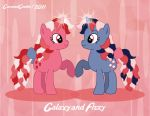 G1 Galaxy and Fizzy on G4 Style by CaramelCookie