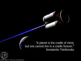 A Planet is the Cradle of Mind by Norski