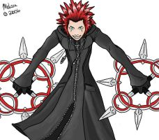 Axel by CreatureCreatingBabe