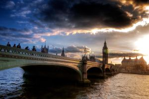Westminster bridge by garki