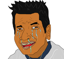 Crying Arab guy by holdypause
