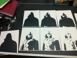 Martian Manhunter ITW by Stencils-by-Chase