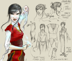 Azula redesign by kahel