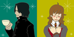 Snape and Hermione 3 by piyo119
