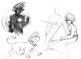 Yet more Kingdom Hearts by tigrin