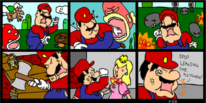Mario to the Rescue by Kibbies