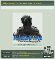 Resident Evil: Operation Raccoon City Icon v2 by CODEONETEAM