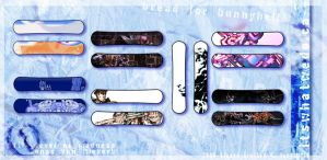 Snow Board Designs 1 by hyperSasquatch