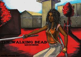 .::Michonne::. by Misore-Seppen