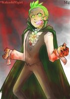 Commission: Cilan - Not blood, but cranberry LOL by Marini4
