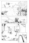 Casimir Effect page 1 inks by LeighWalls-Artist