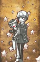 .:Yoite and Miharu:. by Ariall
