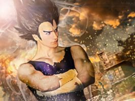 Vegeta - Dragon Ball Z Cosplay by Leon Chiro PRIDE by LeonChiroCosplayArt