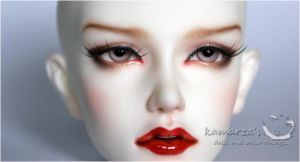Soom Dia faceup commission 2 by kamarza