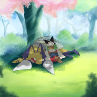 Mid-day nap by Yufika