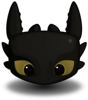 Toothless by Inextasie