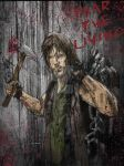 Walking Dead: Daryl Fear the Living by Graymalkin2112