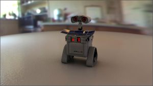 Photorealistic Wall-E by theaaronp