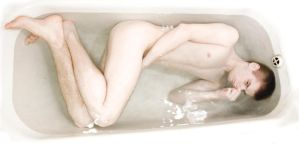 In the bath by Krumas
