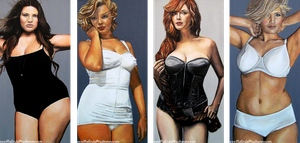 Curvy Beauties by MalindaArt