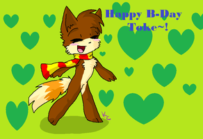 :B-Day: Toke by SnookumsGal