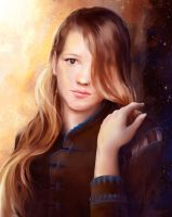 Rebecka Portrait by VEPSART