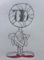 Marvin the Martian as a Mummy by nintendolover2010