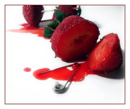 Death of a Strawberry 2 by CrustyMuffin