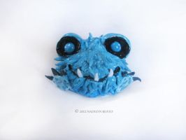 Poof Sculpture by NadilynBeato