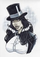 Zatanna by PatrickFinch