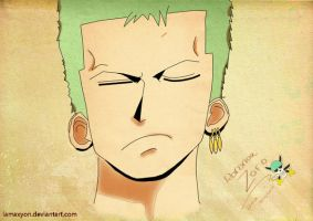 Moody Zoro -colord- by Lamaxyon