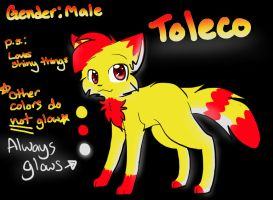 Toleco Reference Sheet. by Renapop
