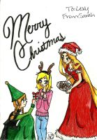 Merry Christmas Lexy! .:2013:. by kawaiiwolves