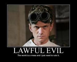 Lawful Evil Dr. Horrible by 4thehorde