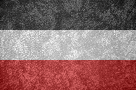 German Empire ~ Grunge Flag (1871 - 1918) by Undevicesimus