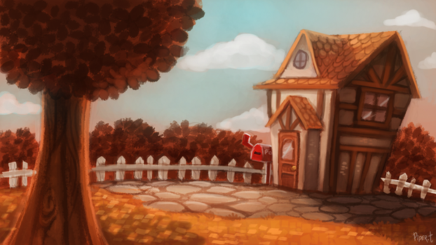 DAY 124. Animal Crossing - Autumn (40 Minutes) by Cryptid-Creations