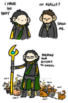 Loki's Army by geothebio