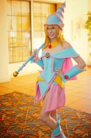 Dark Magician Girl by JojoPandaFace