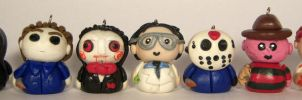 Horror Movie Pendants by sweet-geek