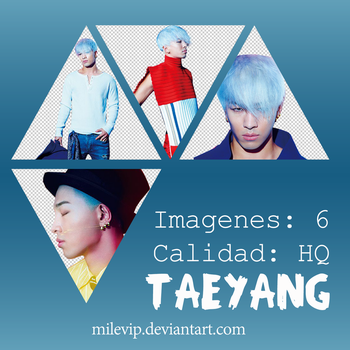 TAEYANG 6 PNG'S BY: MILEVIP by Milevip