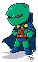 Chibi Martian Manhunter-color by Rapsody