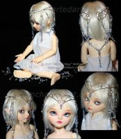 BJD-Dollfie: Lucia's Crown by algy