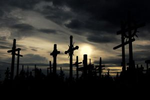 Hill of Crosses... by LordXar