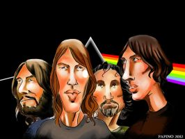Pink Floyd by papinucho