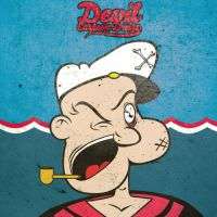 Popeye X Sailor X Man by Schulerr