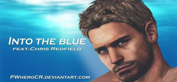 Into the Blue feat.Chris Redfield by PWheroCR