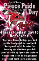 Promotional Posters for Pierce College by steelrose13