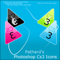 Pathard's Photoshop CS3 Icons by Pathard