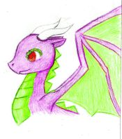 Gift:DancingDragoness by TheCherryGoldfish