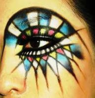 Colorful Eye makeup by Sowhat171